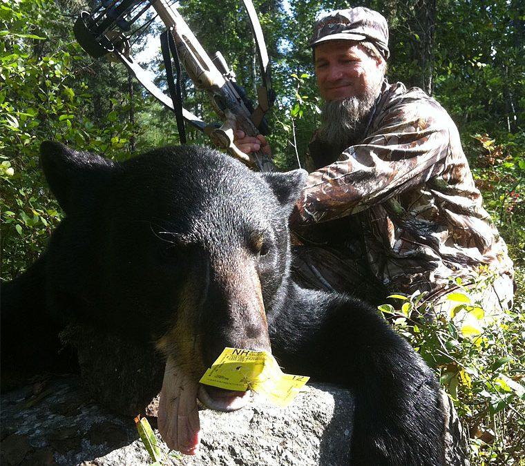 Spring and Fall Ontario Black Bear Hunts